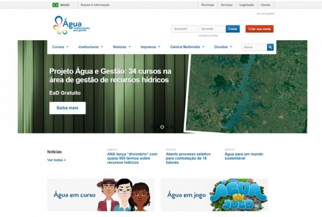 Projeto Água – Cursos gratuitos de gestão com 1250 vagas em aberto