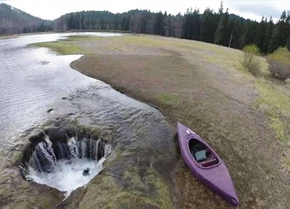 O mistério do Lago que desaparece