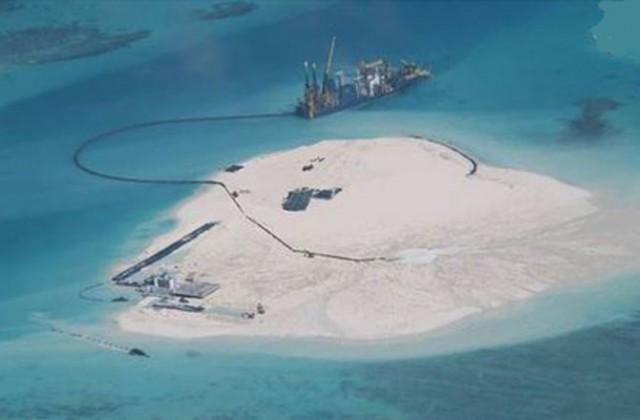 Como a China constrói Ilhas Artificiais