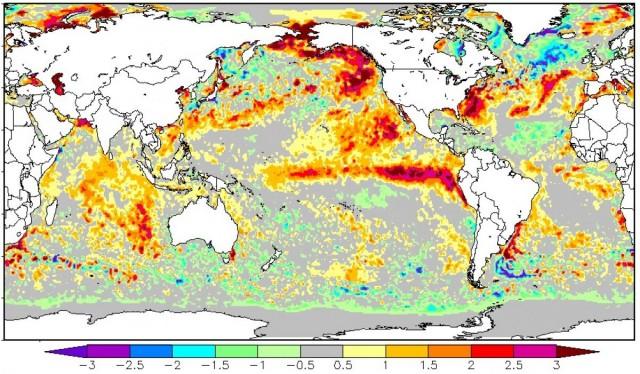 Primeiro inverno sob influência do El Niño em mais de meia década