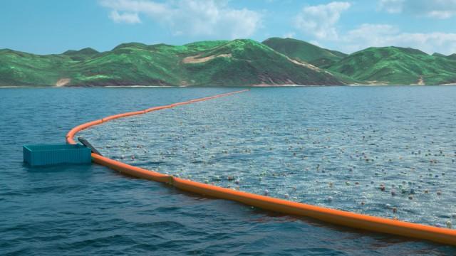 Garoto de 20 anos é o principal responsável pelo primeiro sistema de limpeza dos oceanos.