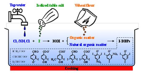 Cozinhar com água da torneira e sal pode criar moléculas tóxicas para saúde