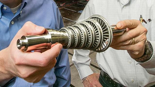 Nova turbina feita com impressora 3-D da GE congela água do mar para torná-la potável.
