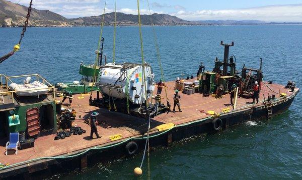 Microsoft mira o fundo oceânico para testar um Data Center submarino.
